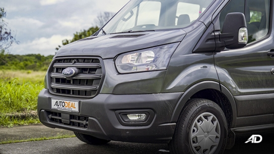 ford transit review road test front fascia exterior
