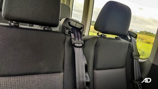 ford transit review road test seats interior