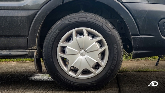ford transit review road test steel wheels exterior