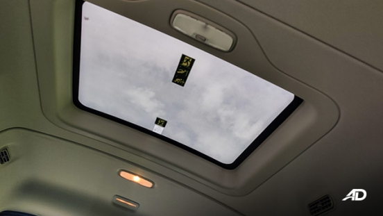 ford transit review road test sunroof interior