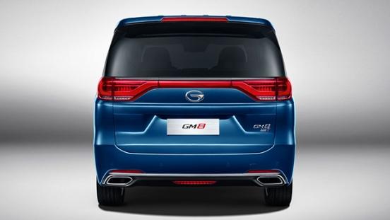 GAC GM8 2018 rear