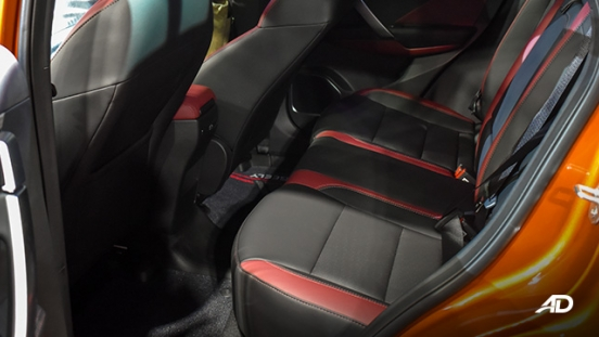 Geely Coolray interior rear seats