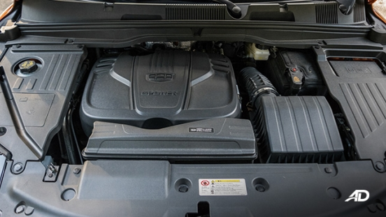 geely coolray road test review engine gasoline interior