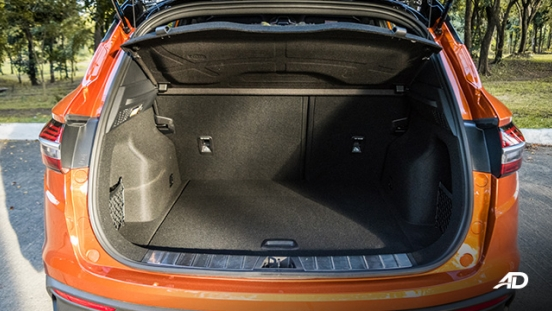 geely coolray road test review trunk cargo interior philippines
