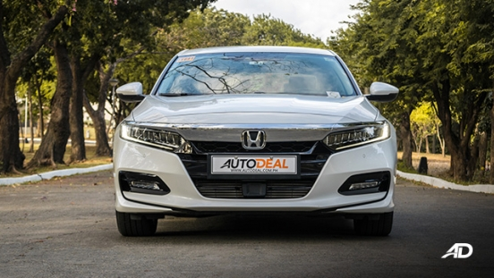 honda accord review road test front exterior philippines