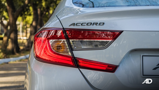 honda accord review road test led taillights exterior philippines