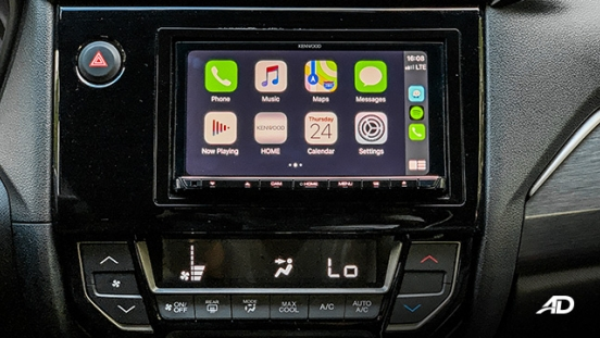 honda br-v road test review apple carplay infotainment interior