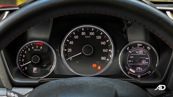honda br-v road test review instrument cluster interior