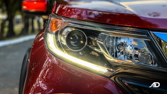 honda br-v road test review LED DRLs exterior