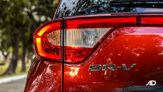honda br-v road test review LED taillights exterior philippines