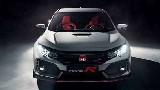 Honda Civic Type R 2018 headlight