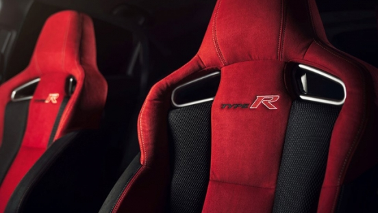 Honda Civic Type R 2018 seats