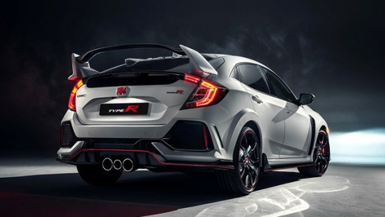 Honda Civic Type R 2018 taillights