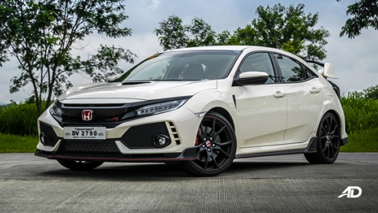 honda civic type r review road test front quarter exterior
