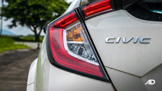 honda civic type r review road test led taillights exterior