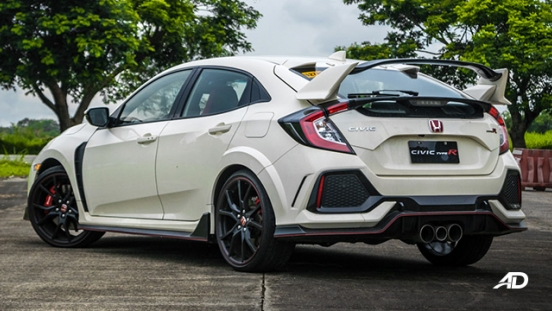 honda civic type r review road test rear quarter exterior