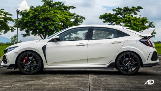 honda civic type r review road test side view exterior philippines