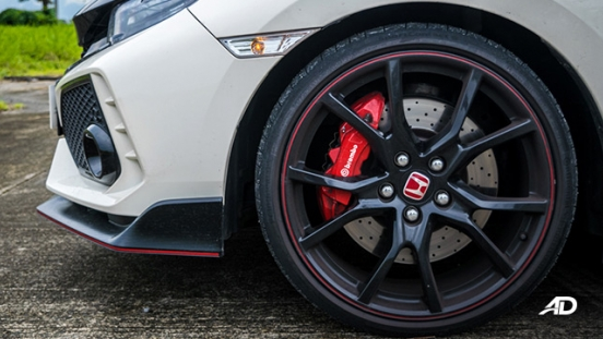 honda civic type r review road test wheels exterior philippines