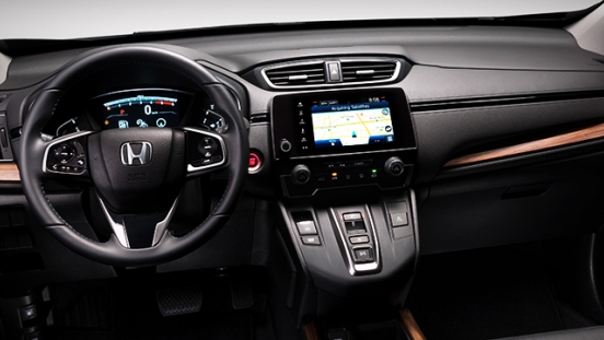 Honda CR-V 2018 dashboard