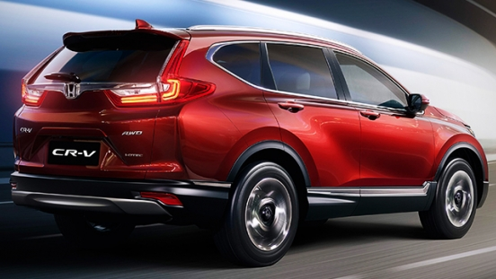 Honda CR-V 2018 rear