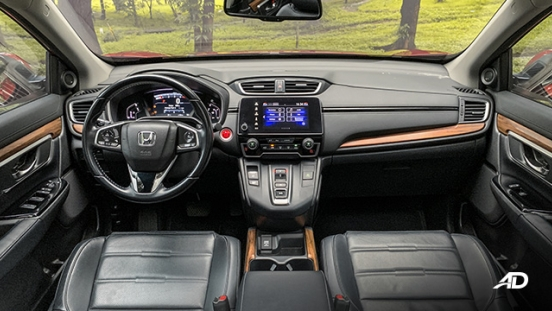 honda cr-v review road test dashboard interior philippines