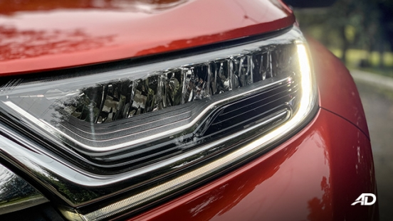 honda cr-v review road test led daytime running lights exterior philippines