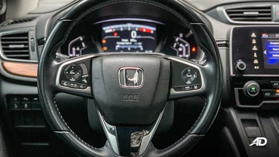 honda cr-v review road test steering wheel interior philippines