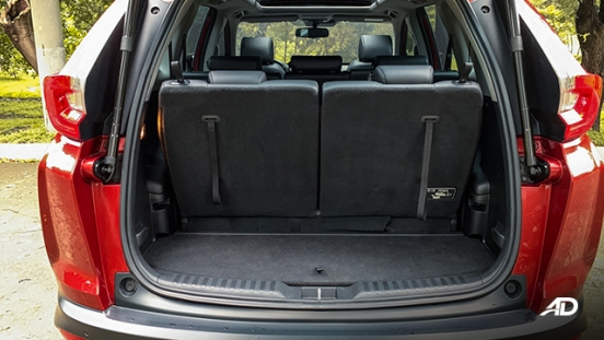 honda cr-v review road test trunk cargo interior