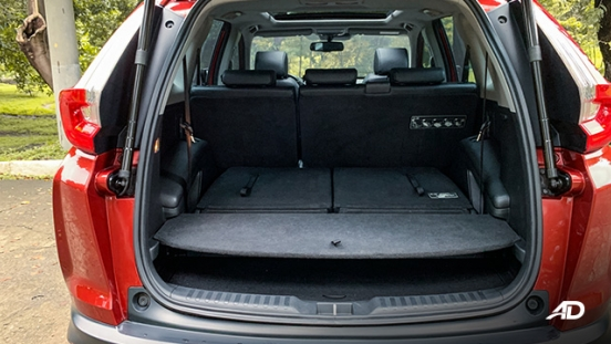 honda cr-v review road test trunk cargo interior philippines