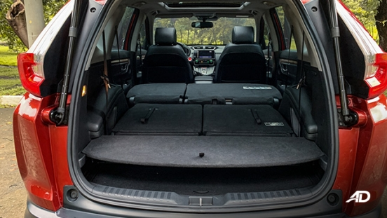 honda cr-v review road test trunk cargo seats folded interior philippines