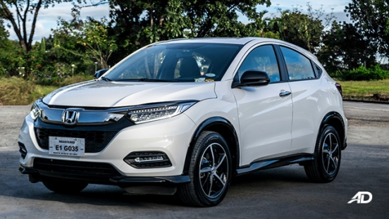 honda hr-v review road test front exterior philippines