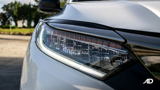 honda hr-v review road test LED headlights exterior philippines