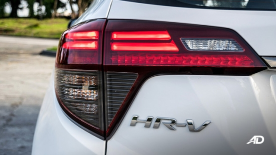 honda hr-v review road test LED taillights exterior philippines