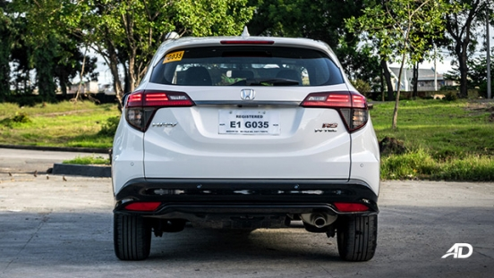 honda hr-v review road test rear exterior philippines