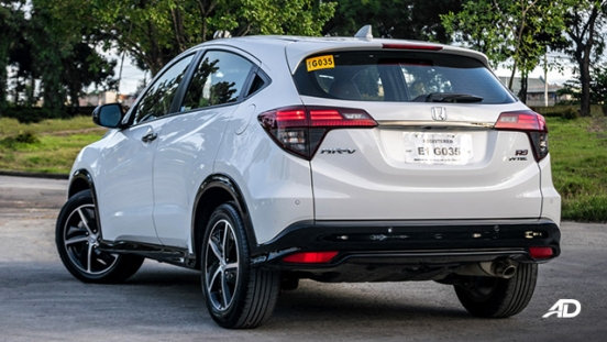 honda hr-v review road test rear quarter exterior philippines
