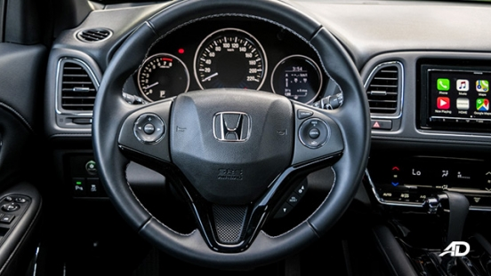 honda hr-v review road test steering wheel interior philippines