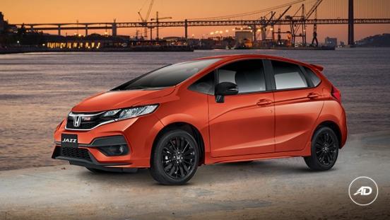 Honda Jazz 2018 orange
