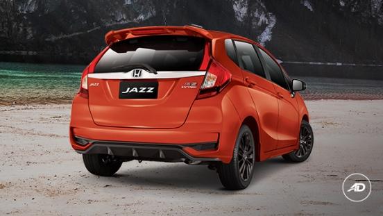 Honda Jazz 2018 rear