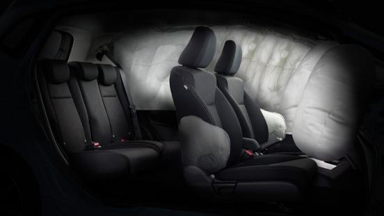 Honda Jazz 2018 seats