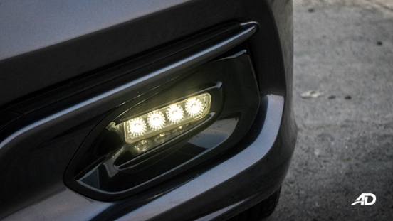 honda jazz road test fog lights exterior