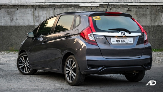 honda jazz road test rear exterior philippines