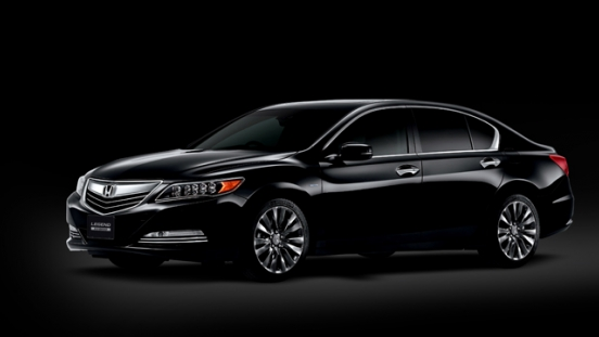 Honda Legend 2018 black