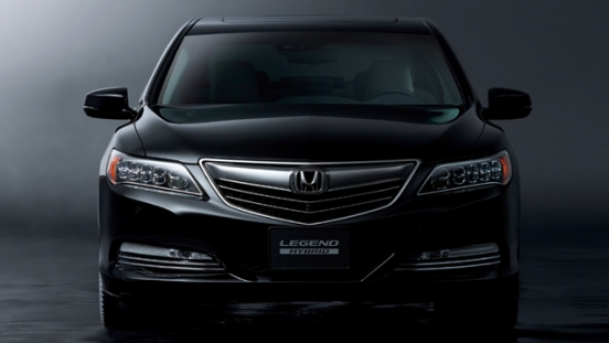 Honda Legend 2018 face