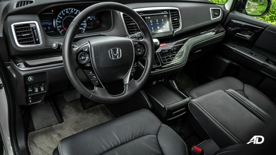 honda odyssey review road test front cabin interior philippines