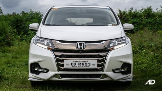 honda odyssey review road test front exterior philippines