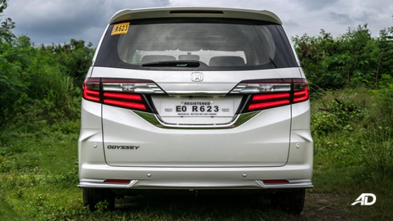 honda odyssey review road test rear exterior philippines