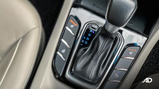 hyundai ioniq hybrid review road test center console interior