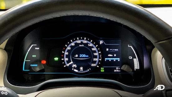 hyundai ioniq hybrid review road test instrument cluster interior