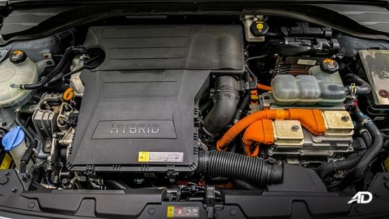 hyundai ioniq hybrid review road test powertrain engine
