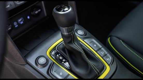 Hyundai Kona 2018 gear stick